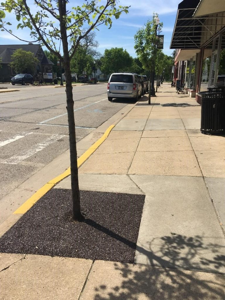 Porous Pave Comes to Downtown Wayland