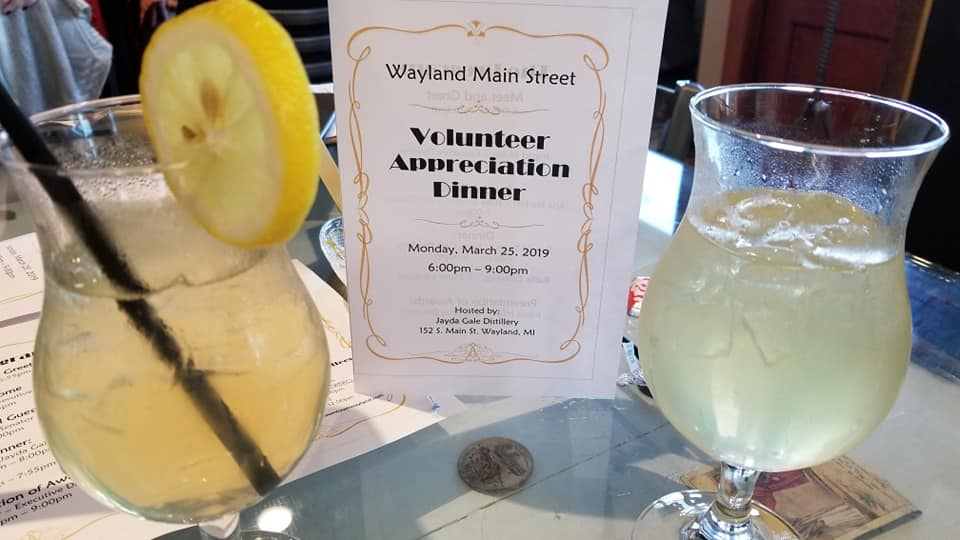 Wayland Main Street Honors Volunteers at Annual Appreciation Dinner